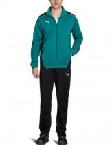 PUMA-Herren-Trainingsanzug-Foundation-Poly-Suit-II,-Team-Green-Black,-S,-653575-05-von-Puma-10127818