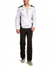 PUMA-Herren-Trainingsanzug-Foundation-Woven-Suit,-White-Black,-XL,-653093-04-von-Puma-69222481
