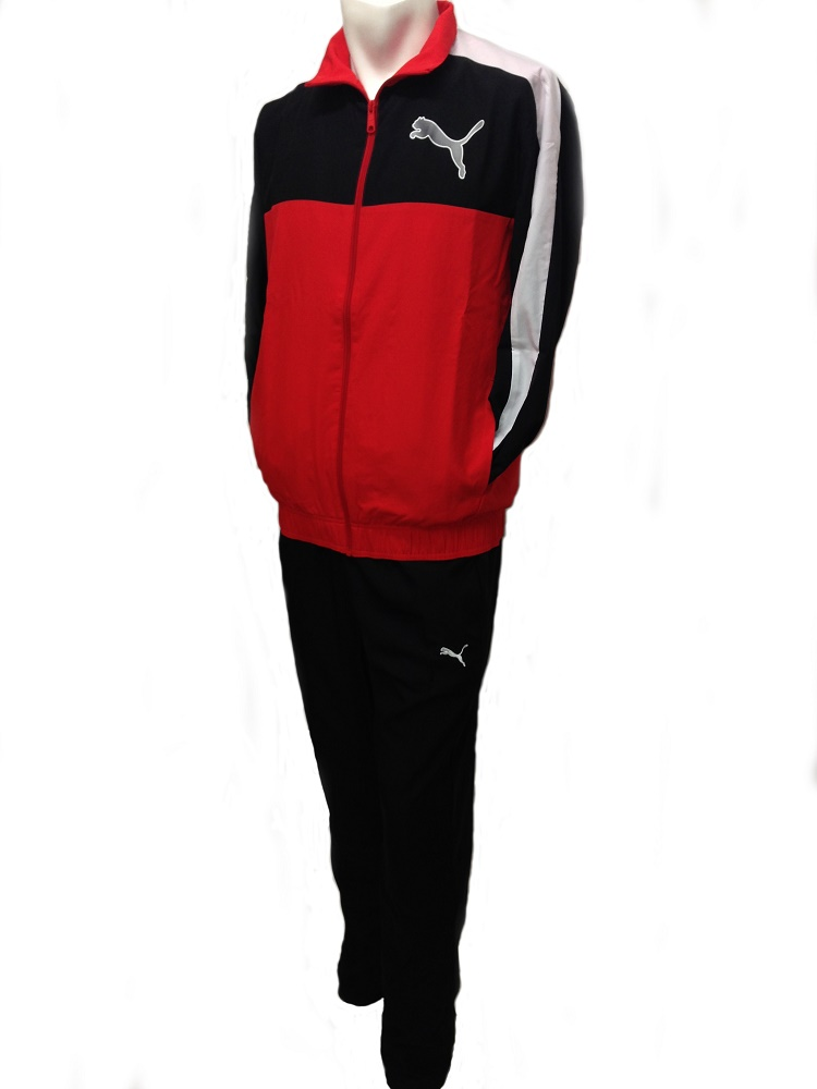 puma jumpsuit mens. puma blk/red graphic tracksuit mens puma jumpsuit mens
