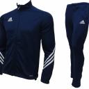 Adidas Junior Tracksuit Navy