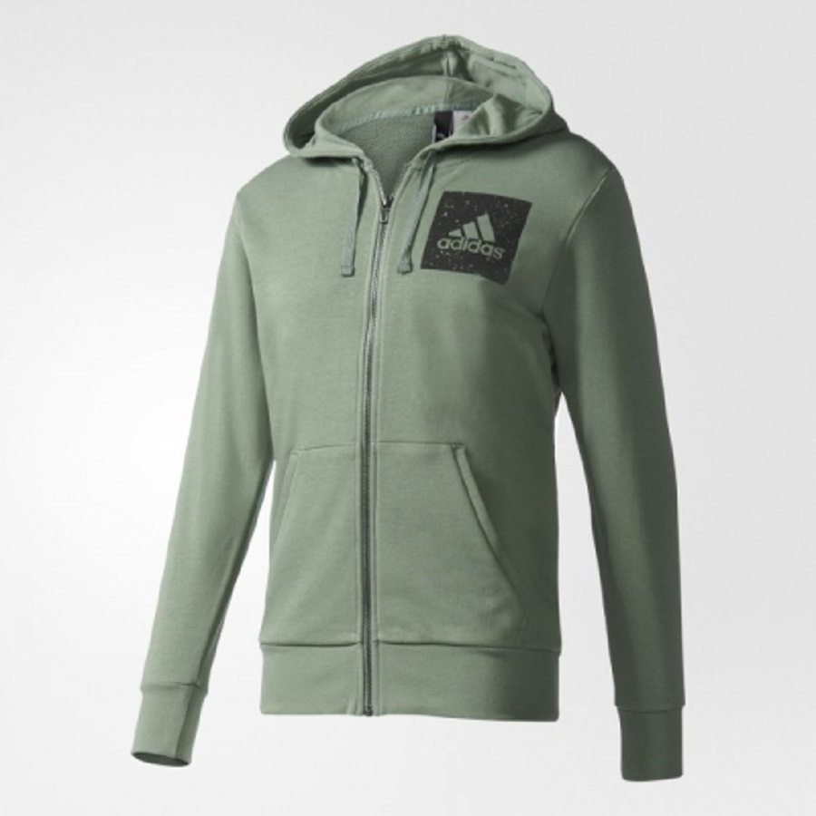 adidas bottle green sid hoody mens ugo sports. Black Bedroom Furniture Sets. Home Design Ideas