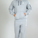 nike grey suit