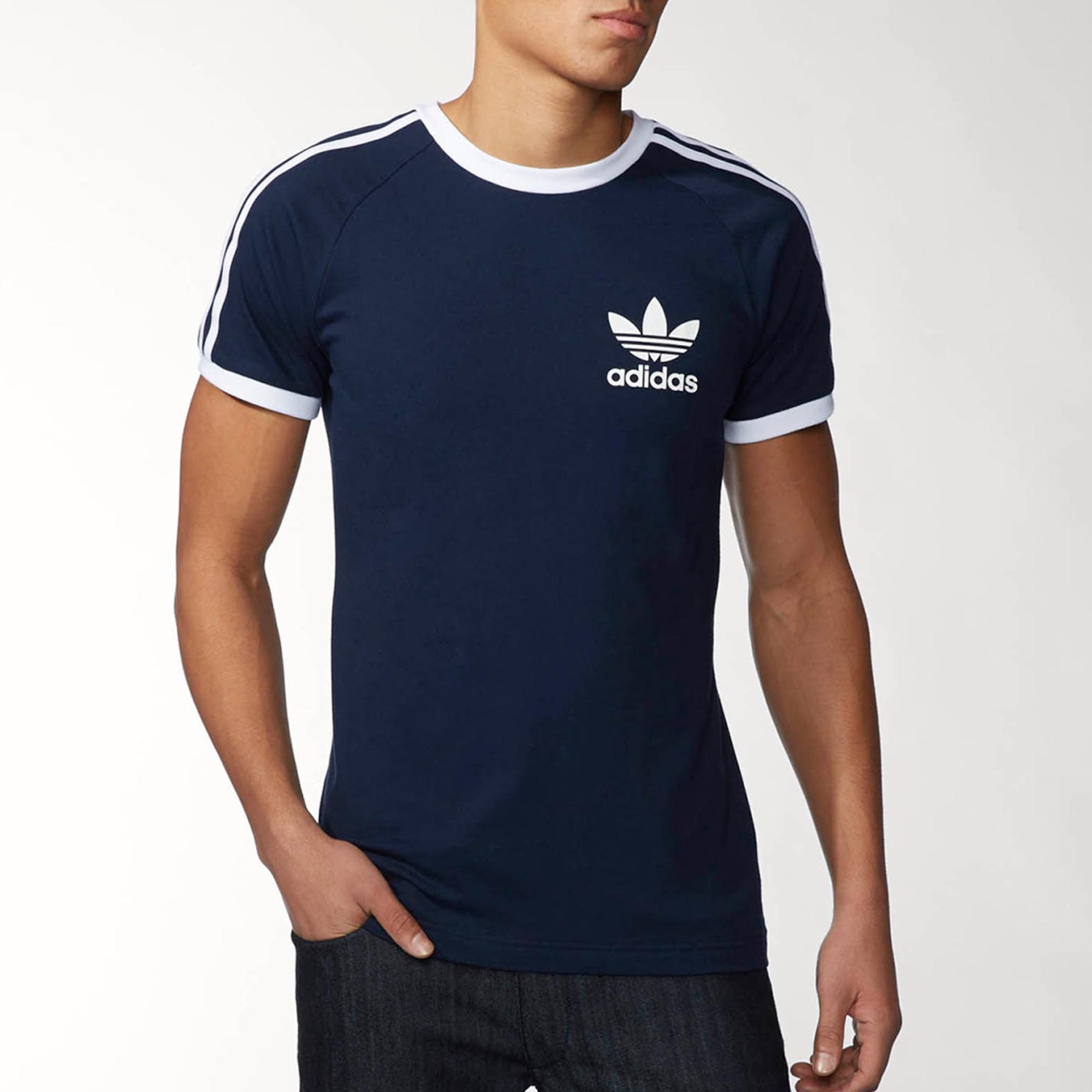 adidas california t shirt blue