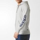 Adidas Linear Hoodie Grey