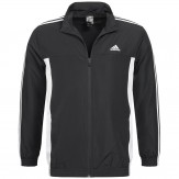 Adidas 3 Stripe Track Jacket Mens