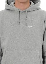 Nike Club Hoodie Grey Back