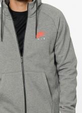Nike Hoodie Mens Grey