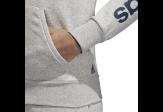 Adidas Ess Lin Hoodie Grey 2