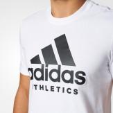 Adidas Ess Tee White 2