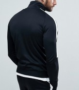 Nike Tribute Track Top Black Back