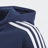 Adidas Kids Hoodie Blue 4