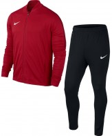 Nike Polyester Tracksuit Mens Red-Black