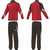 Adidas Sere Kids Tracksuit Red 3