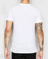 Nike Futura T-Shirt White back
