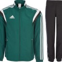 Adidas Tracksuit Green Black
