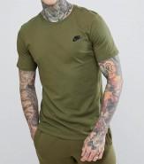 Nike T-Shirt Camo Green