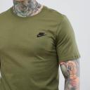 Nike T-shirt camo green 3
