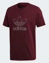 Adidas Originals Burgindy t-shirt