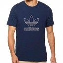 Adidas Outline t-shirt navy 222