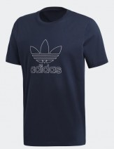 Adidas outline t-shirt navy 22