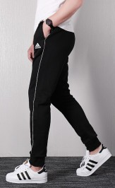 Adidas Core Pants Mens Black 3