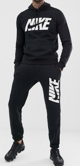 Nike Graphic Tracksuit Black 2