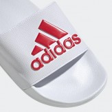 Adidas Sliders White 2