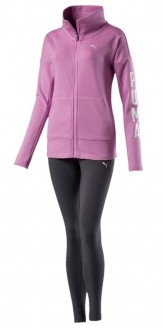 Puma Tracksuit pink