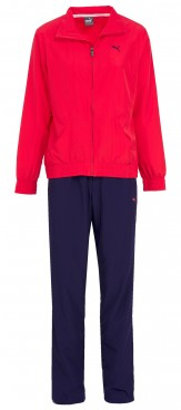 Puma Womens Tracksuit red