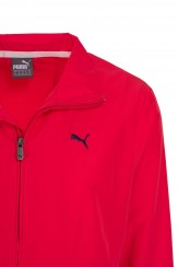 Puma Womens Tracksuit red 2