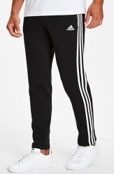 Adidas Fleece Joggers Black 5