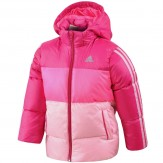 Adidas Girls Pink Jacket