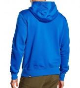 Northface hoodie blue 2