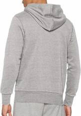Adidas overhead hoodie mens back