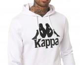 Kappa hoodie white 3