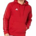 Adidas core hoodie red