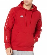 Adidas core hoodie red