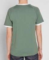 Adidas green back