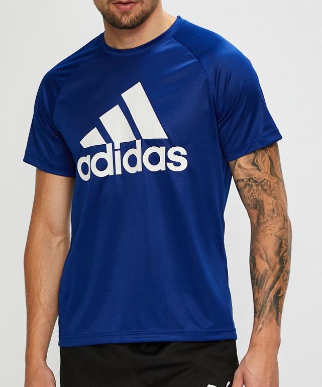 adidas t shirt blue colour