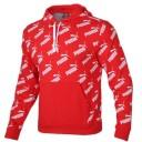 Puma hoodie red