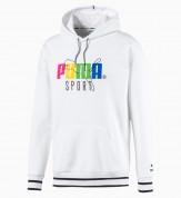 Puma hoodie white