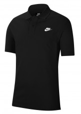 Nike polo shirt mens black