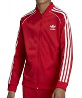 ADIDAS TRACK TOP RED