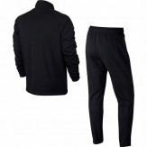 Nik tracksuit back black