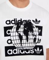 adidas t-shirt mens white ee