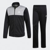 Adidas tracksuit mens grey-black