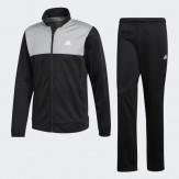 Adidas tracksuit mens grey-black