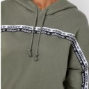 Adidas womens hoodie green