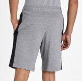 Puma shorts mens grey back