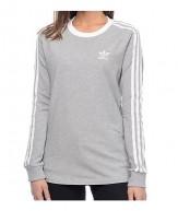 Adidas top grey
